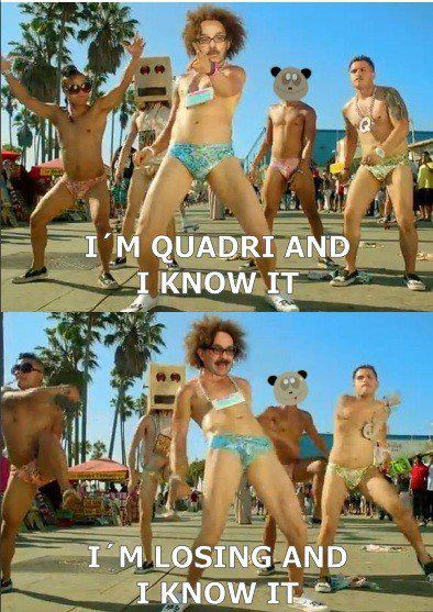 i'm quadri and i know it