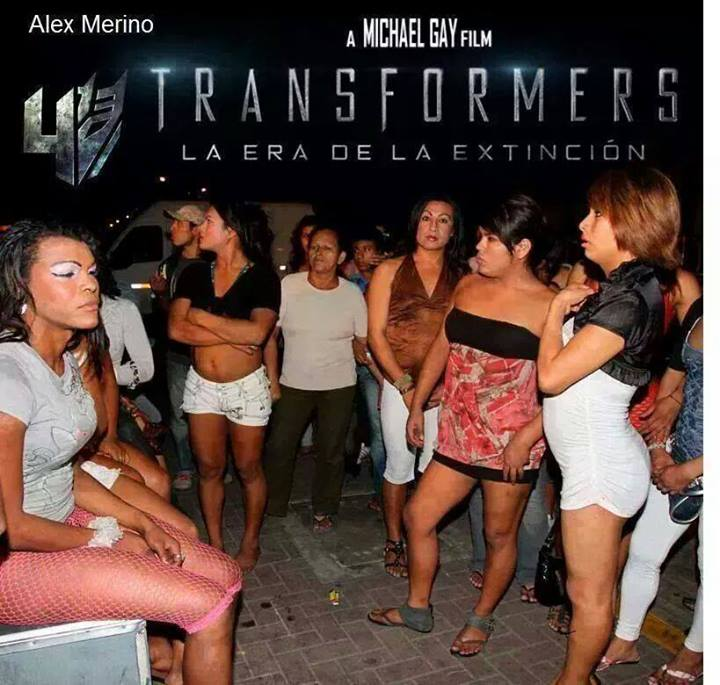 transformers la era de la extincion mujeres