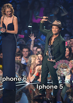 iphone 6 y 5 taylor swift bruno mars