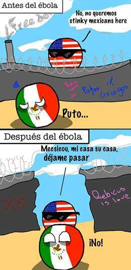 antes y despues del ebola mexico estados unidos