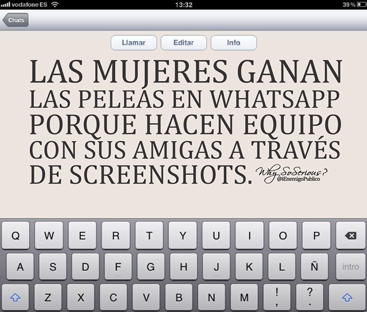 mujeres peleas whatsapp screenshots